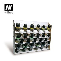 Acrylicos Vallejo - 26009 - Accesories - Wall Mounted Paint Display for 35 and 60 ml bottles(NT 720元)