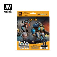 Acrylicos Vallejo - 70239 - Model Color - Infinity License Paint Set - O-12 Exclusive Miniature (8) - 17 ml.(建議售價NT 1100)